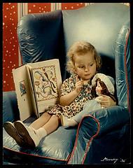 Girl Teaching Doll
